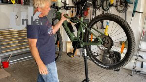Fahrradmontageständer EUFAB 16421