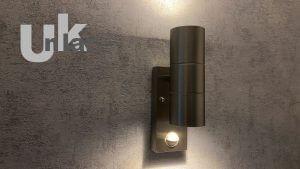 Grafner 26APIR Wandlampe mit Bewegungsmelder,