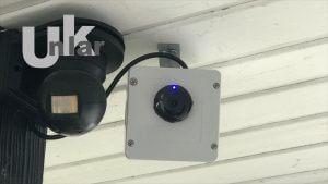 NetVue Home Cam im geschützen Außenbereich einsetzen